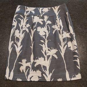 Banana Republic Heritage - Flower Print Skirt